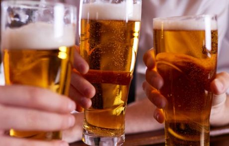 3 pints of beer