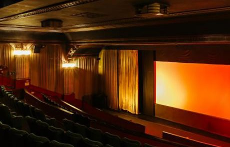 Inside the cinema